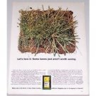 1961 Scotts Erase Grass Killer Color Print Ad