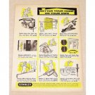 1959 Stanley Tools Saws Print Ad