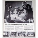 1960 DeWalt Compound Miter Saw DeWalt Power Shop Print Ad