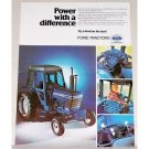 1978 Ford 6700 Farm Tractor Color Print Ad