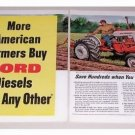 1960 Ford 901 Select-O-Speed Tractor 2 Page Color Print Ad