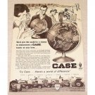1965 Case Farm Tractors Print Ad