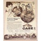 1965 Case Farm Tractors Print Ad