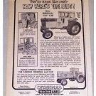 1969 I-B Brand Farm Tractor Cab Print Ad