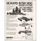 1974 Bush Hog Rotary Cutters Bushhog Print Ad