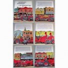1961 Massey Ferguson Farm Tractors 6 Page Color Print Ad