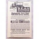 1929 Bean Simplicity Sprayers Print Ad