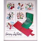 1948 Lady Buxton Personal Leather Goods Wallets Color Print Ad