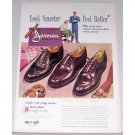 1948 Jarman Shoes For Men Color Print Ad