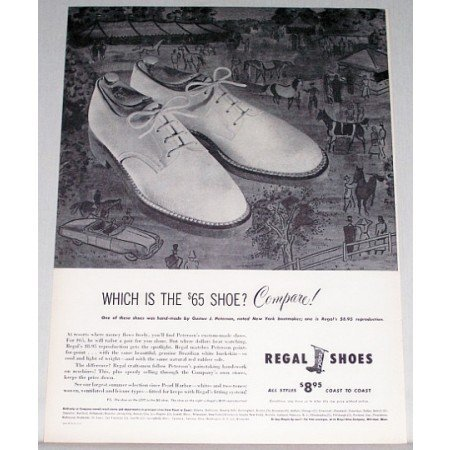 1948 Regal Shoes Print Ad