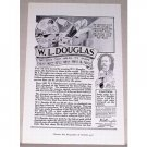 1919 W.L. Douglas Shoes Print Ad - Shoe That Holds Its Shape