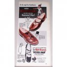 1953 Peters Weather Bird Shoes Peter Pan Color Print Ad