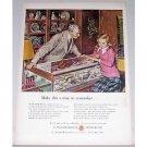 1948 Watchmakers Of Switzerland Color Art Print Ad