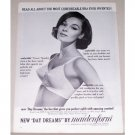 1963 Maidenform Day Dreams Bra Print Ad