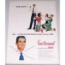 1948 Van Heusen Shirts Color Print Ad