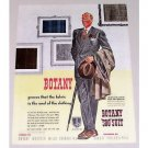 1944 Botany 500 Men's Suit Color Art Print Ad