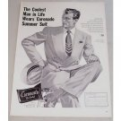 1948 Coronado Summer Suit Print Ad - Coolest Man In Life