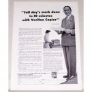 1955 Kodak Verifax Copier Print Ad - Full Day's Work