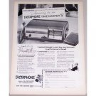 1953 Dictaphone Time Master 5 Dictating Machine Print Ad