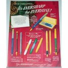1948 Eversharp Pens Color Print Ad