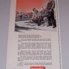 1954 America Fore Insurance Group Color Art Print Ad