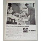 1948 Prudential Insurance Print Ad - Change Places With Children