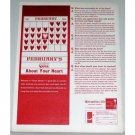 1962 Metropolitan Life Insurance Color Print Ad - Q&A About Your Heart