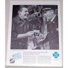 1958 Blue Cross Insurance Card Print Ad