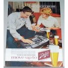 1960 Schlitz Beer Photography Photos Color Print Ad - That's A Good Shot For You