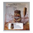 1969 Sanka Freeze Dried Coffee Color Print Ad