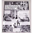 1940 Chase & Sanborn Coffee Print Ad - Thanksgiving Date
