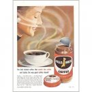1958 Hills Bros. Instant Coffee Color Print Ad - Real Coffee Aroma