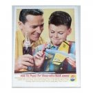1962 Pepsi Cola Soda Model Airplane Color Print Ad - Any Age Can Join In