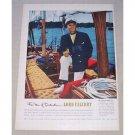 1950 Lord Calvert Blended Whiskey Color Print Ad Arthur Knapp