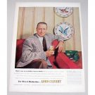 1952 Lord Calvert Whiskey Color Print Ad Patrick Nolet