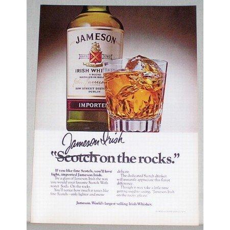 1979 Jameson Irish Whiskey Color Print Ad
