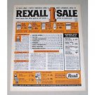 1965 Rexall Drugs 1ct Sale Color Print Ad
