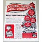 1961 Rexall Drug Store Color Print Ad - Super Plenamins