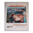 1955 Howard Johnson's Restaurants Color Print Ad