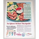 1953 Crisco Shortening Color Print Ad - Taste The Difference