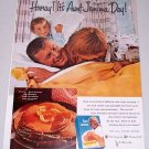 1960 Aunt Jemima Buttermilk Pancake Mix Color Print Ad