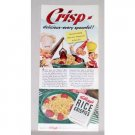 1942 Kellogg's Rice Krispies Color Art Print Ad - Every Spoonful!