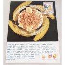 1959 Kellogg's Rice Krispies Color Print Ad - Some Men Growl