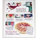 1944 Grape Nut Flakes Cereal Color Art Print Ad - This Is Thelma Walker