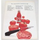 1964 Hunt's Tomato Catsup Color Print Ad