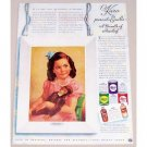 1941 Karo Syrup Series #4 Color Print Ad - Emilie A Bundle of Mischief