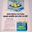 1952 Kraft's Parkay Margarine Vintage Color Butter Food Print Ad