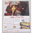 1947 Nucoa Oleomargarine Color Print Ad - Apple Of Your Eye