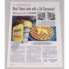 1954 Allsweet Margarine Color Print Ad - Flavor Stands Out