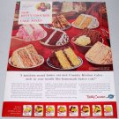 1960 Betty Crocker Country Kitchen Cake Mixes Color Print Ad